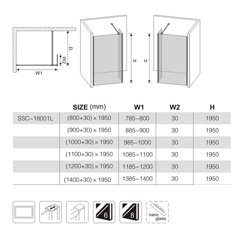 glass shower enclosures manufacturers