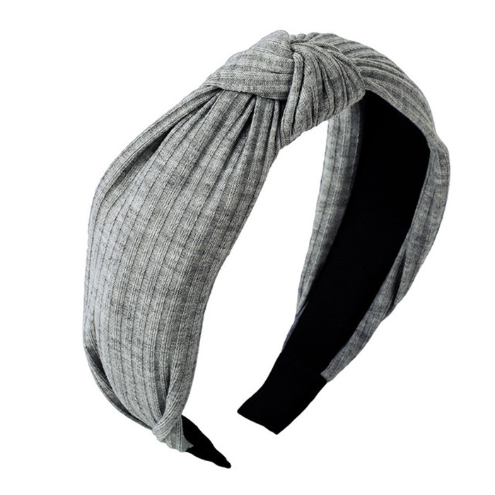 Solid Colors Hair Knotted Hair Band