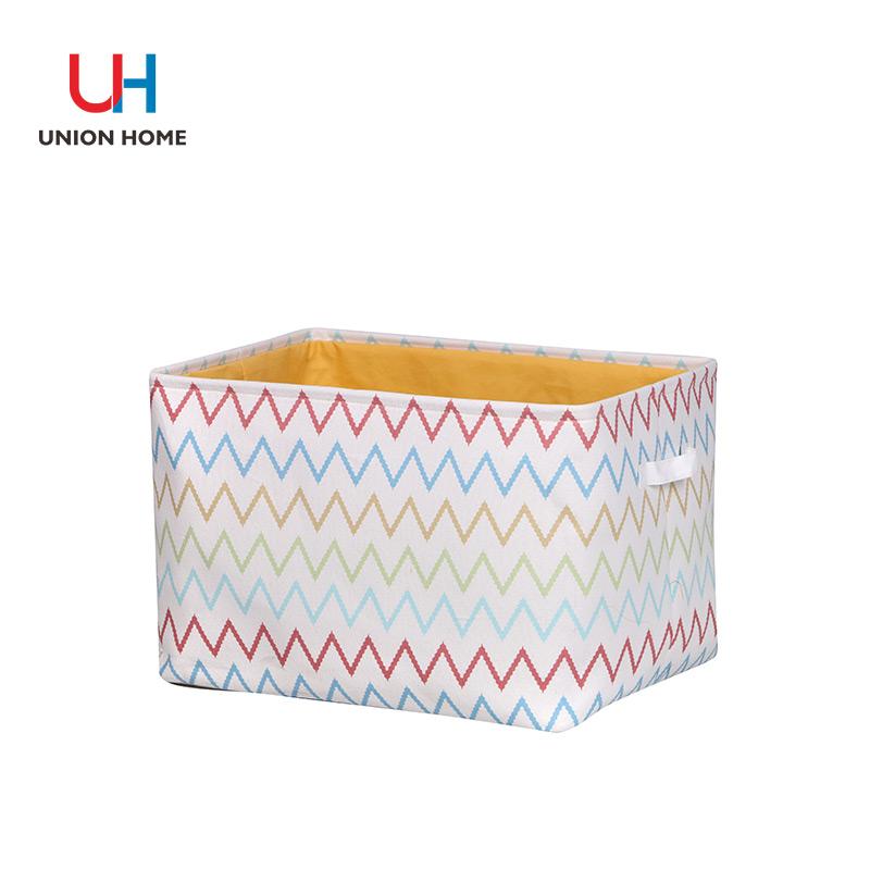 Freestanding terylene liner storage bucket