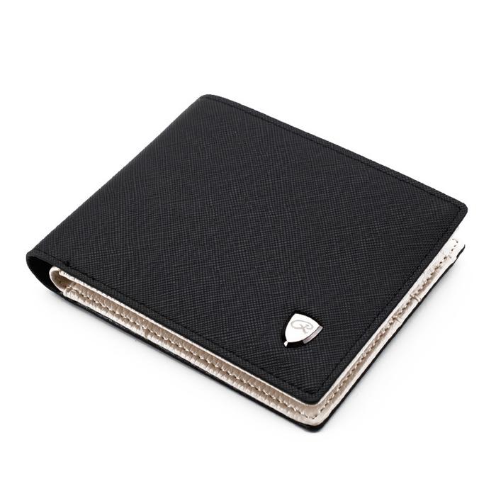 Solid Color Cross Pattern Open Multi Card Position Wallet