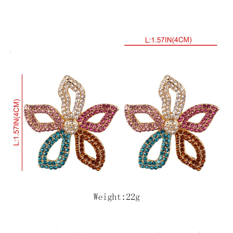 Flower Earrings Stud 1