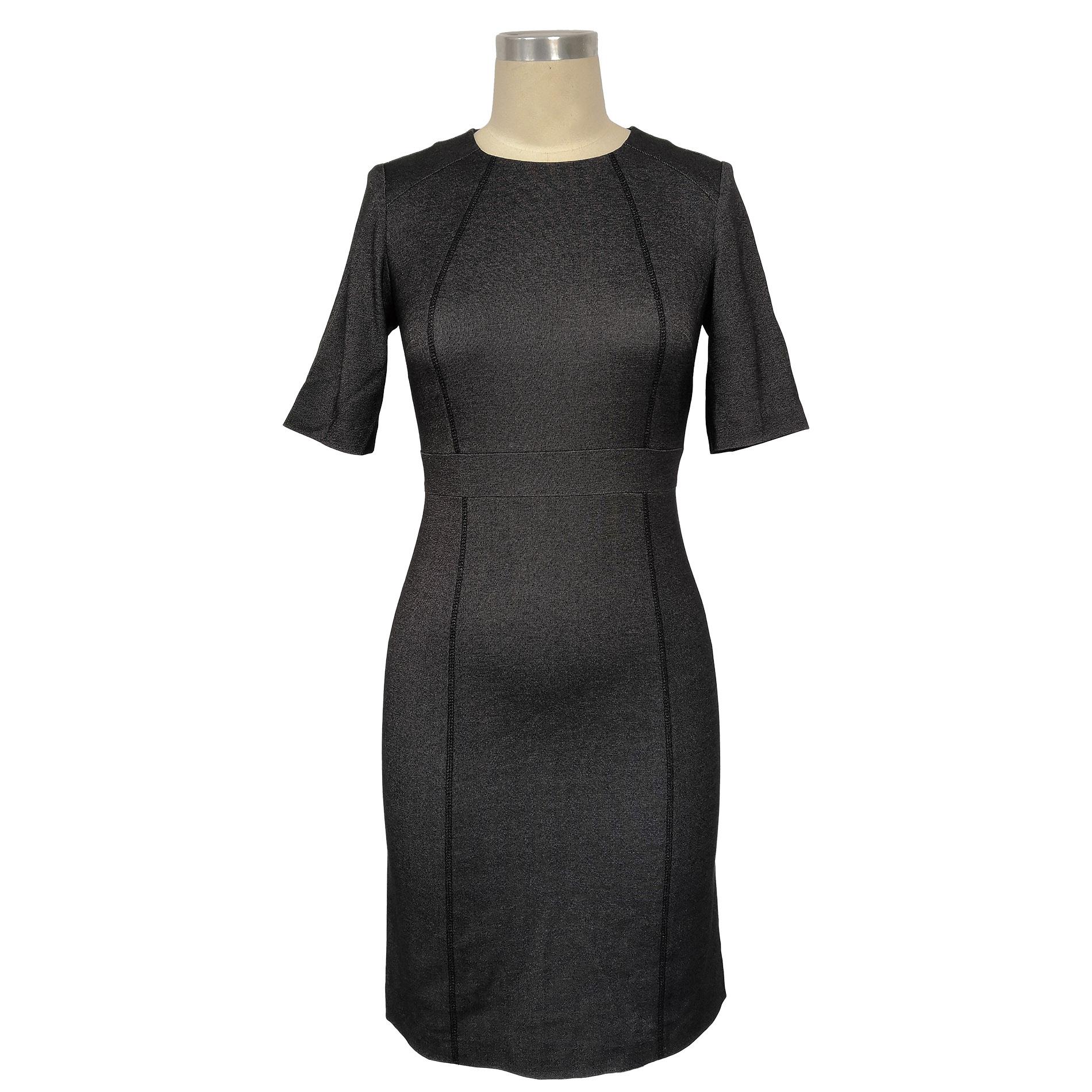 Skinny grey dress
