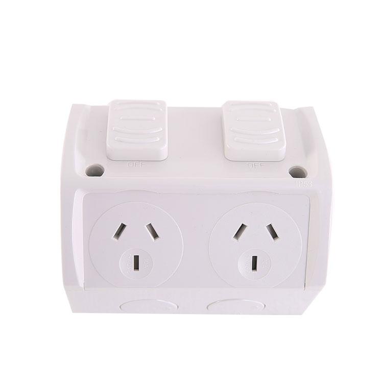 Electrical Weatherproof 250V 10A Single Sockets