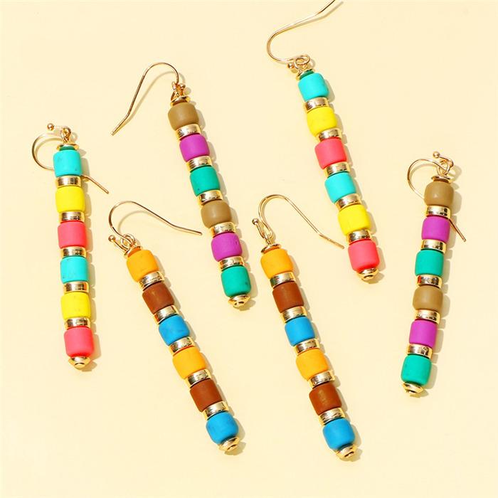 Colorful Beades Earrings