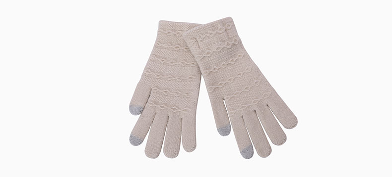 knitted gloves women Factory