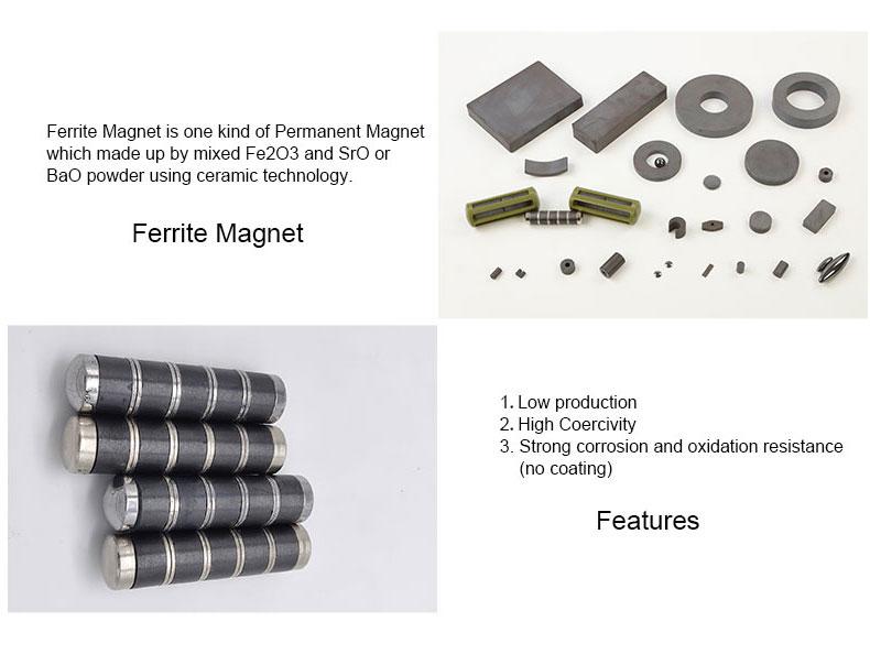 Cuboid neodymium magnets