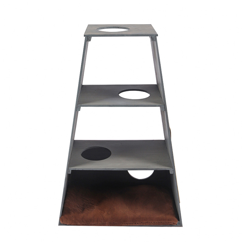 Solid wood cat climbing frame