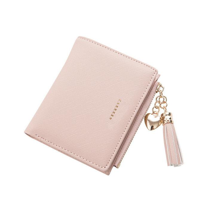 Tassel Women Wallet Small Cute Wallet