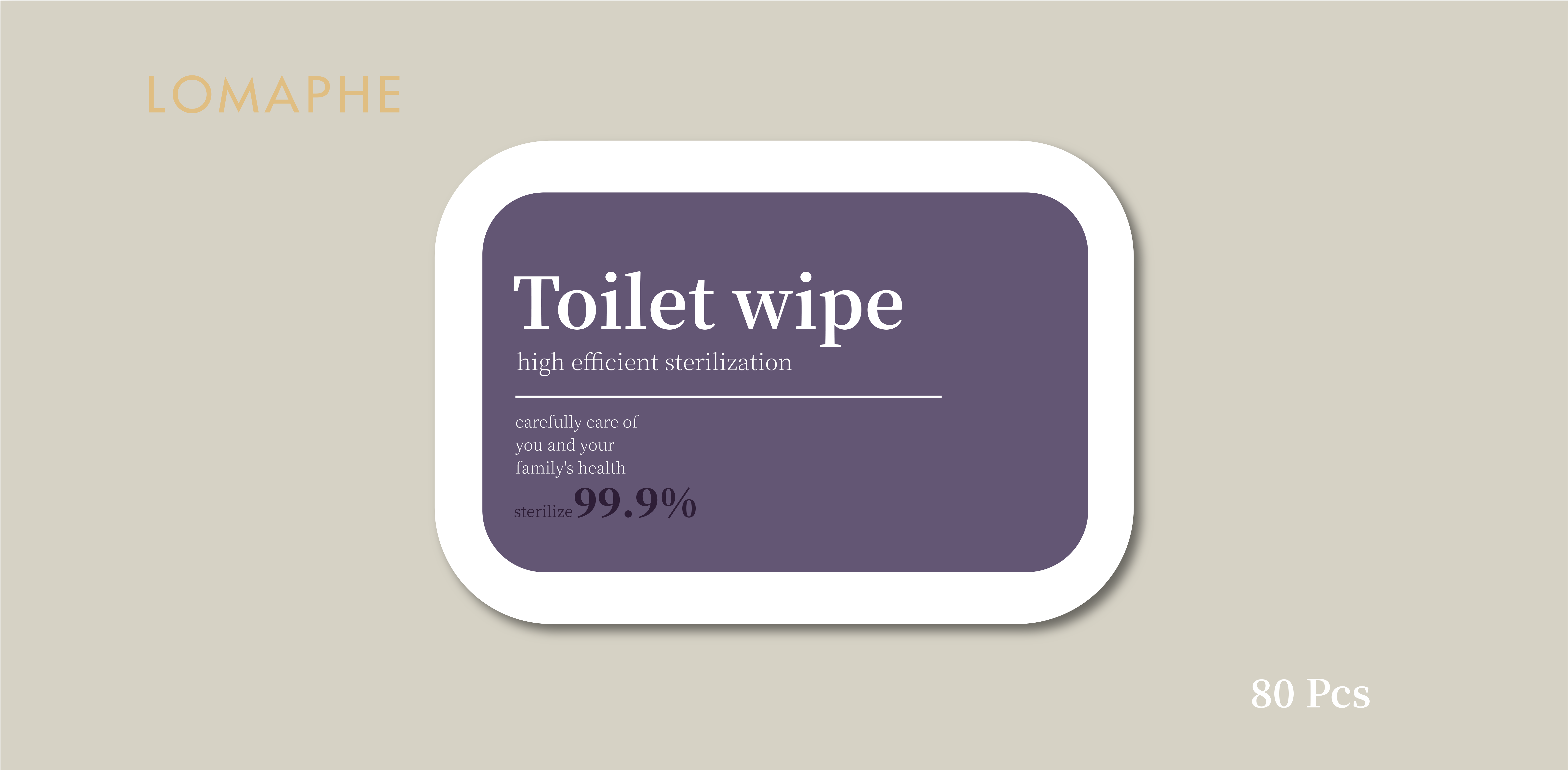 toilet wet wipes
