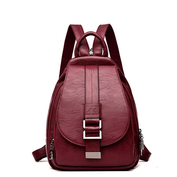Women Leather Backpacks