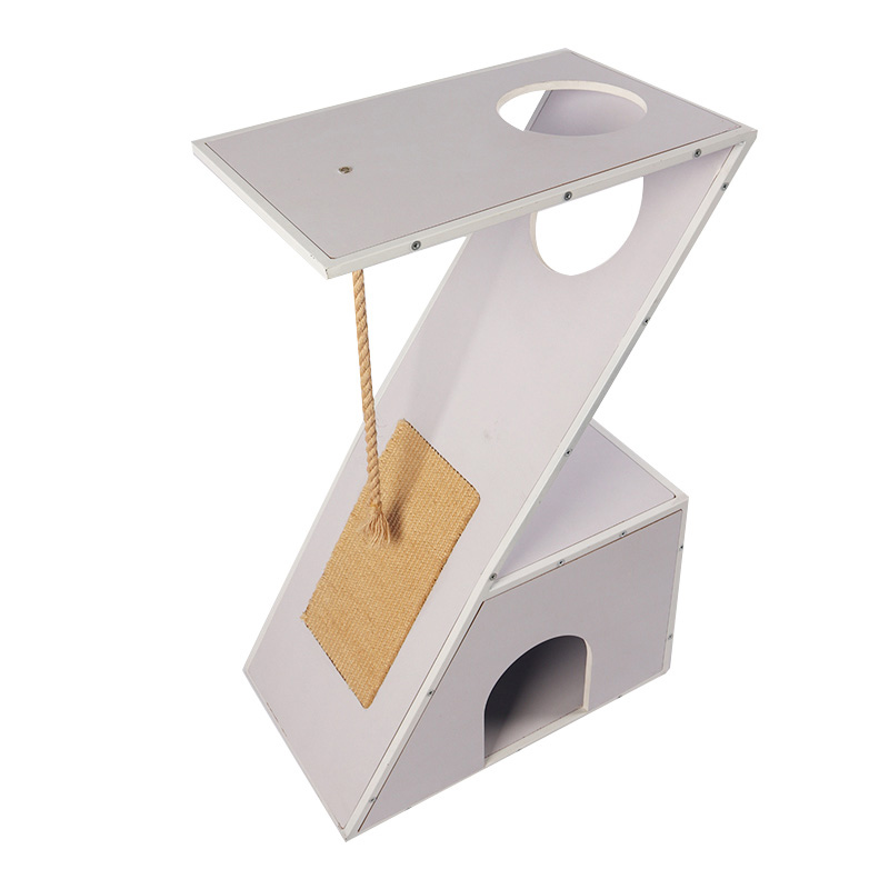 Z type cat nest with scratch pad pet supplies