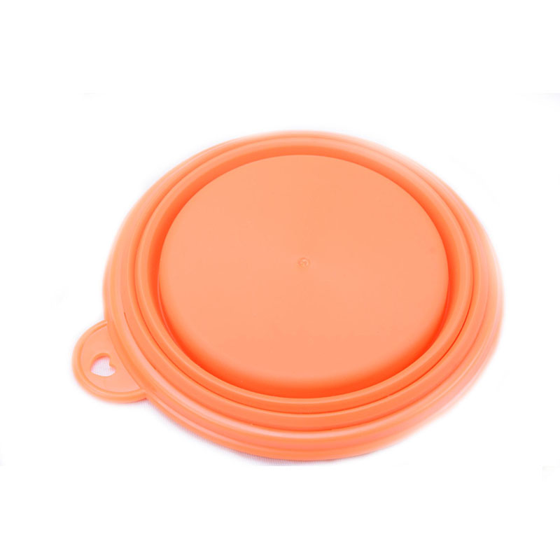 Pet Collapsible silicone bowl
