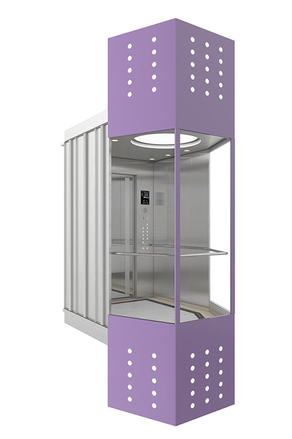 LED lighting Ceiling Stable Observation Elevator