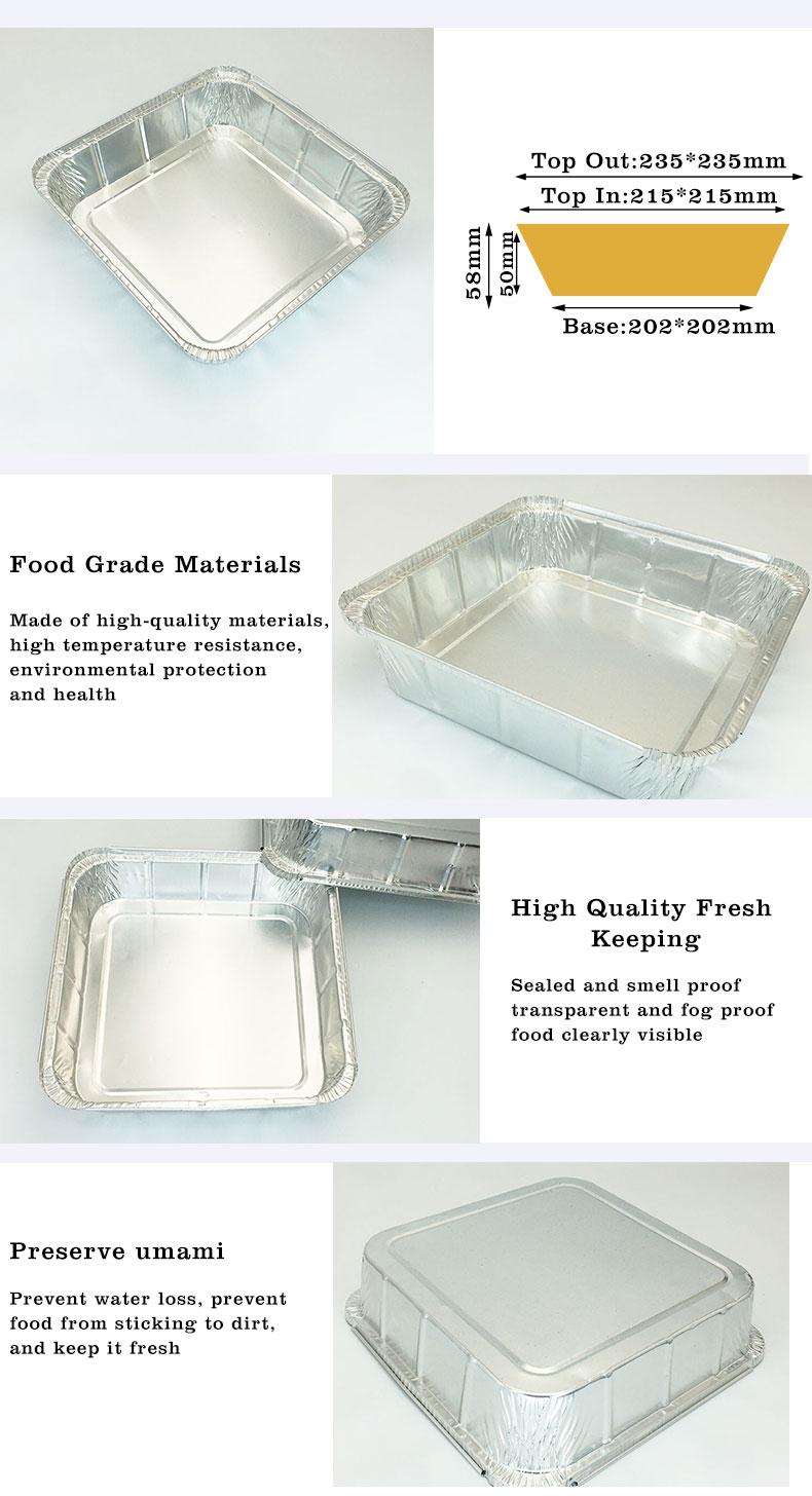 Aluminium foil containers price in China
