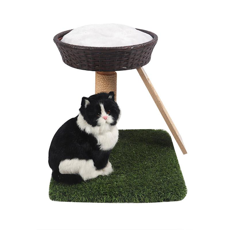 Double - layer rattan breezy cat nest pet product