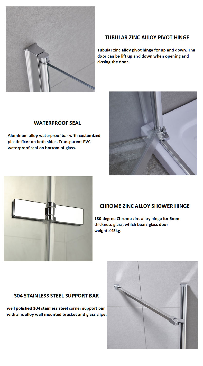 shower enclosure kits manufacturers