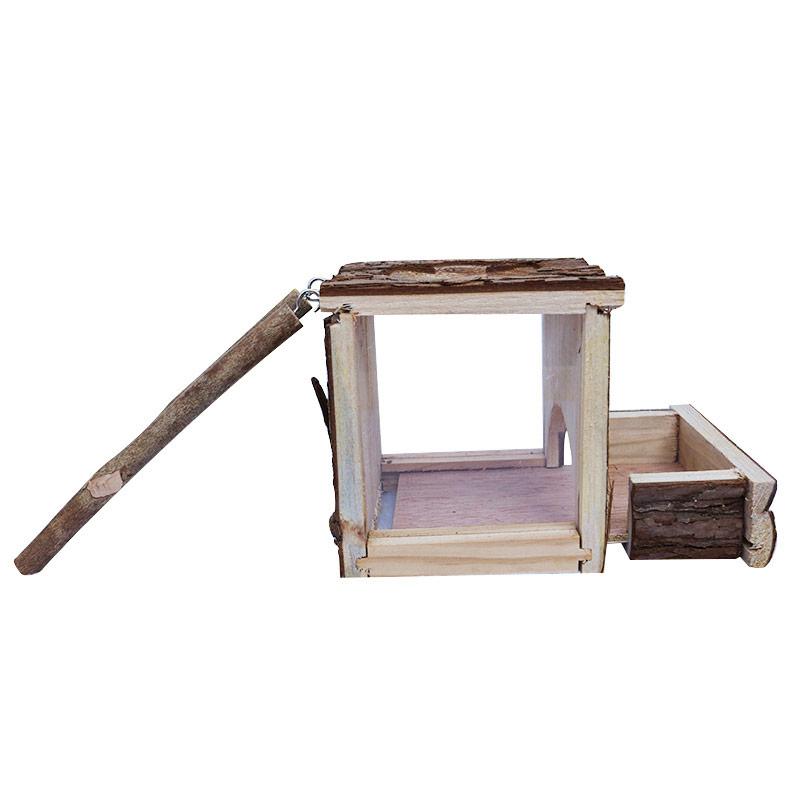 Bark hamster nest pet supplies