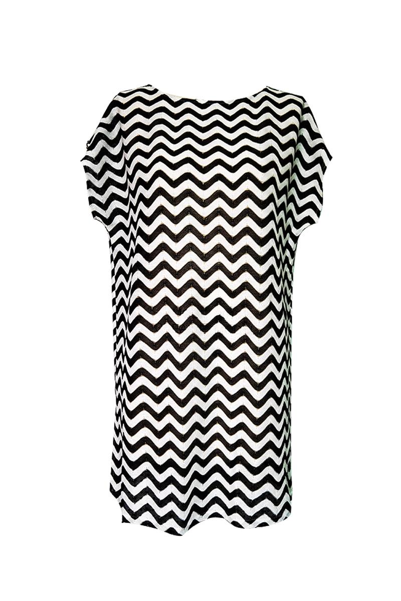 Wave Y/D dress