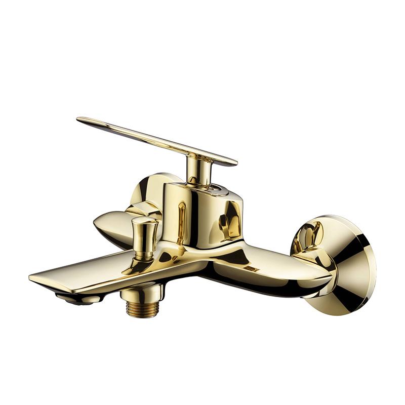 Golden Bath Shower Mixer