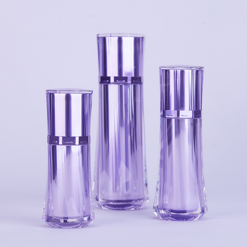 bottles for cosmetic packaging