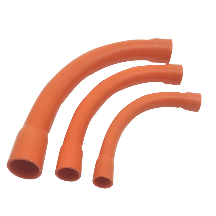 PVC Electrical Rigid Conduit Pipes Fittings