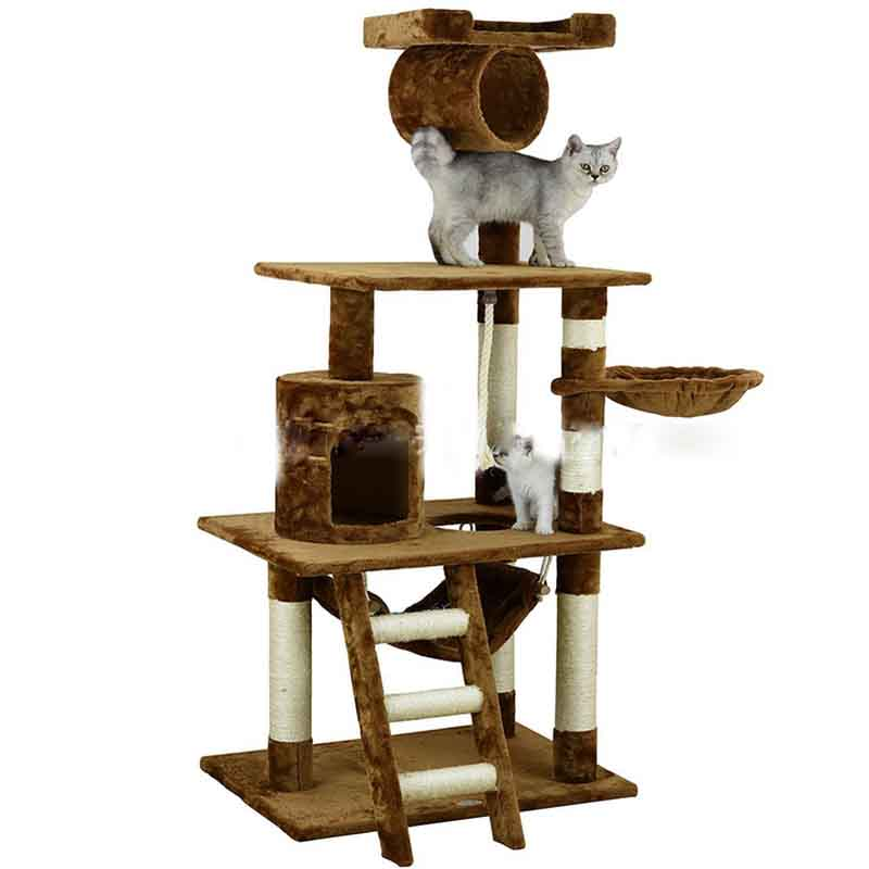 Cat climbing frame pet product