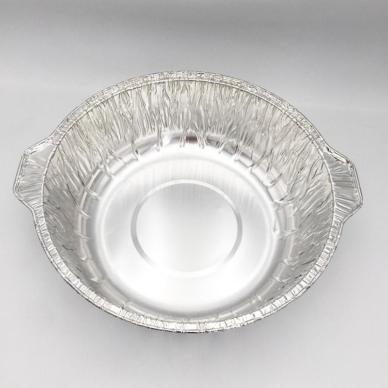 aluminium foil containers in microwave