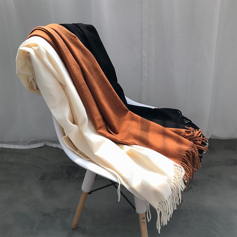 Imitation cashmere shawl