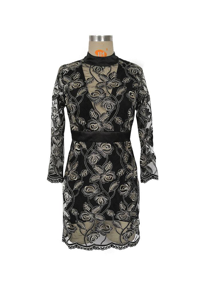 Black EMB dress