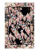 Flower Printed Silk Scarf