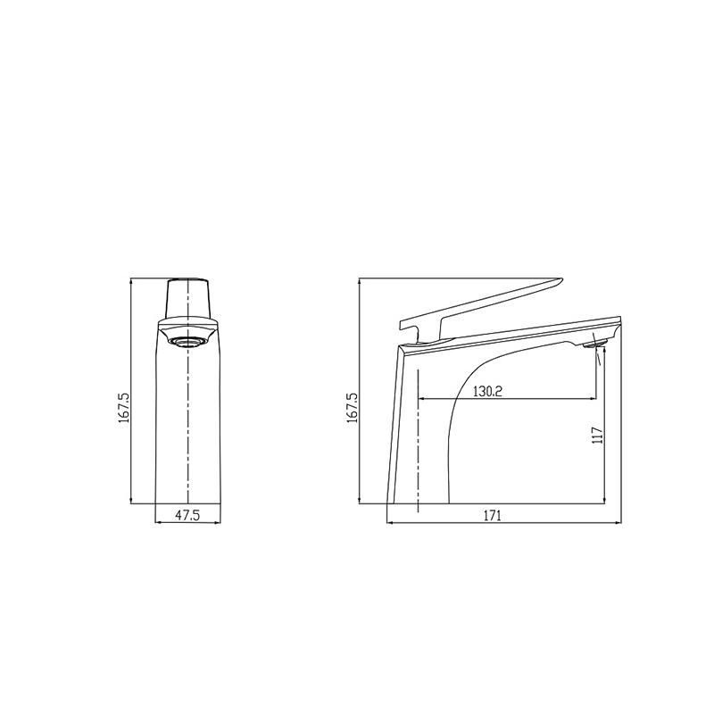 shower mixer valve parts