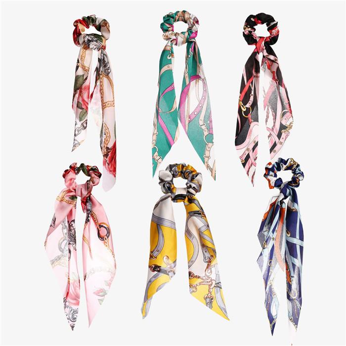 Printing emulation silk headband