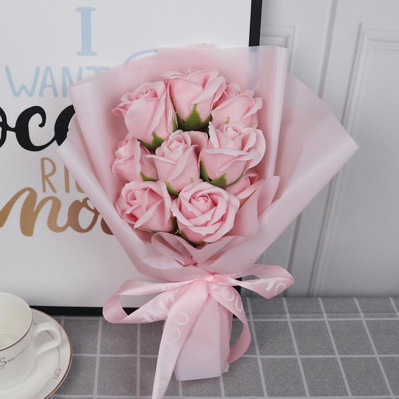 Waterproof flower wrapping paper