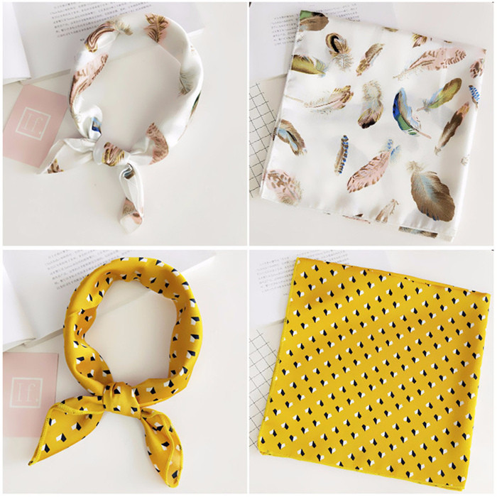Square Scarf Hair Tie Band
