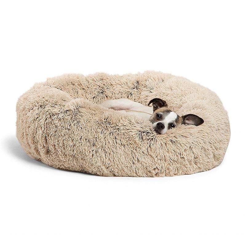 Plush dog bed pet product