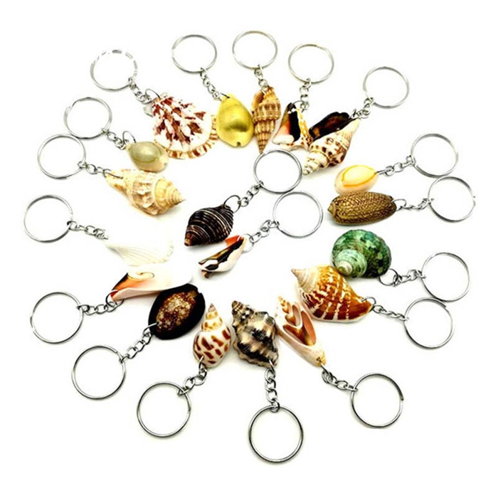 Sea Shells Keychain