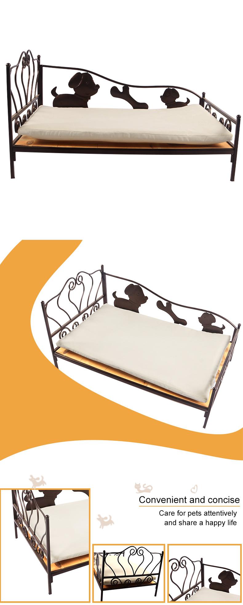 wrought iron cat bed pet supplies