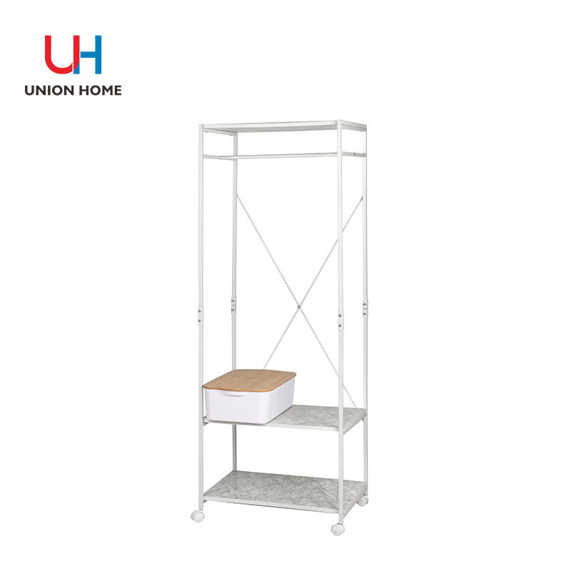 Density board printed marble clothes horse