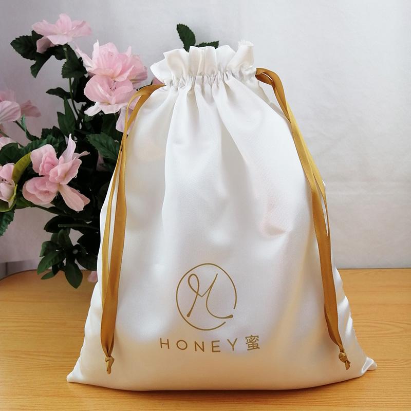 Customized satin fabric gift bag