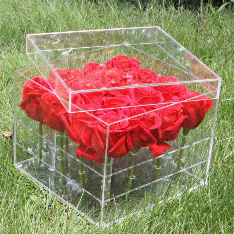 Acrylic gift box