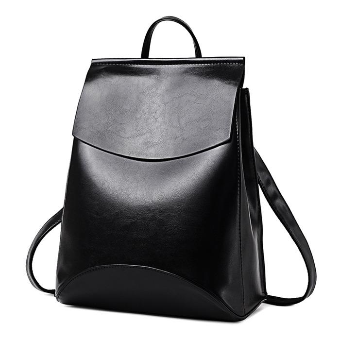 High Quality PU Leather Backpacks