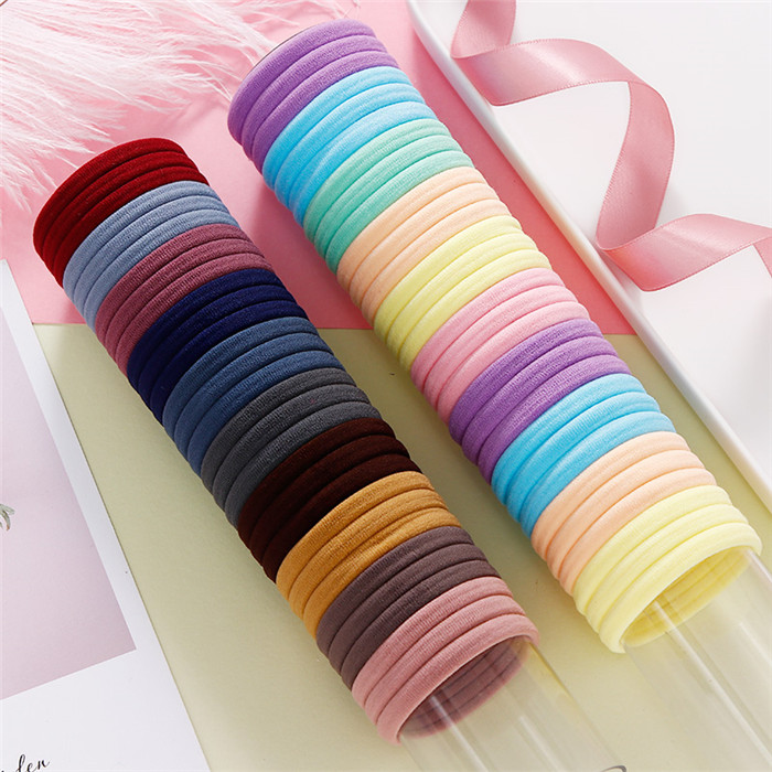 Candy Colors Nylon Elastic Hair Bands