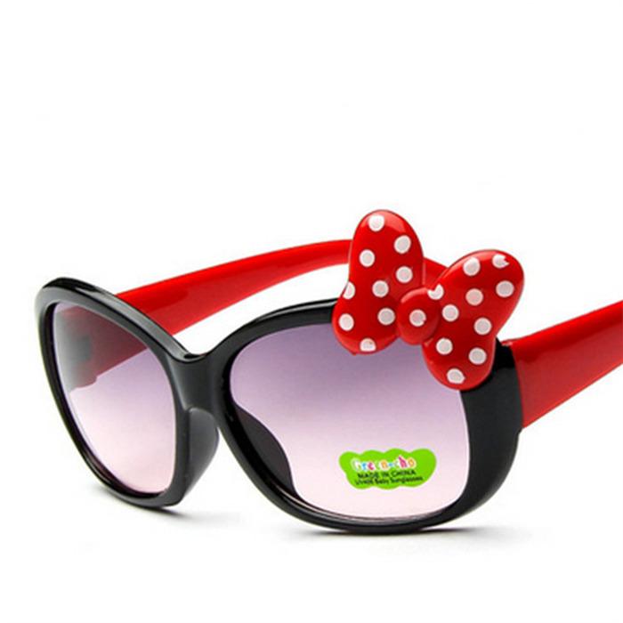 Children Goggle Girls Alloy Sunglasses