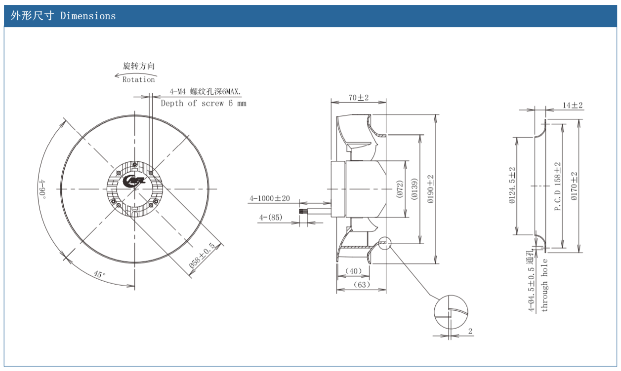 centrifugal fan speed controller