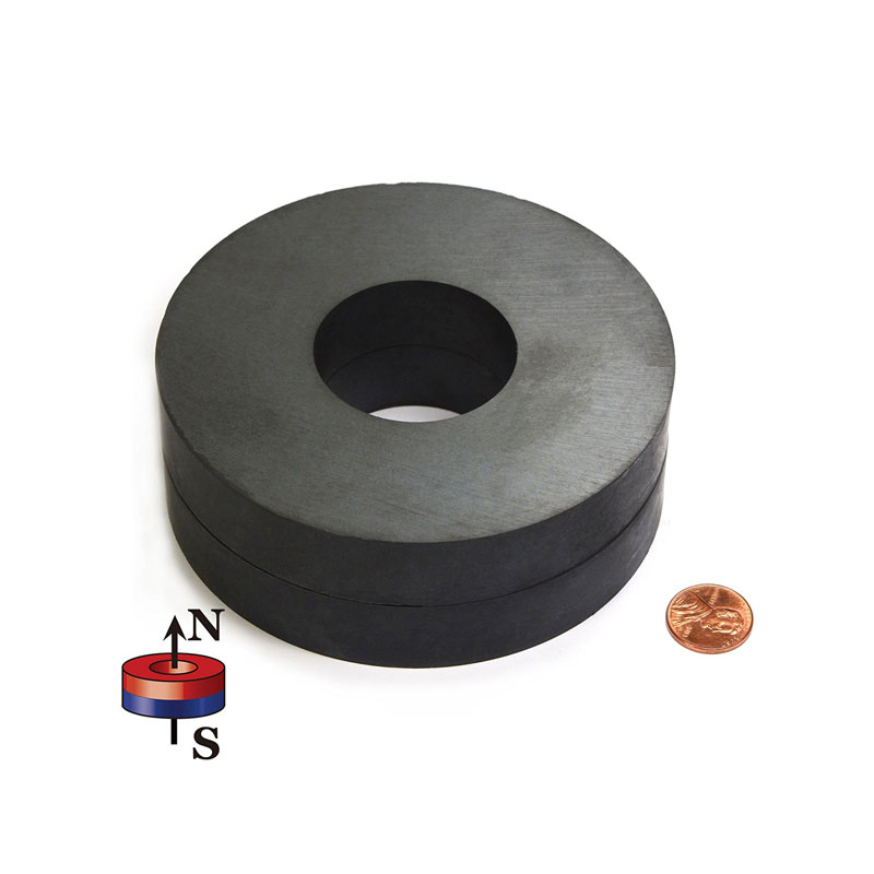 Great Circle Ferrite Magnet