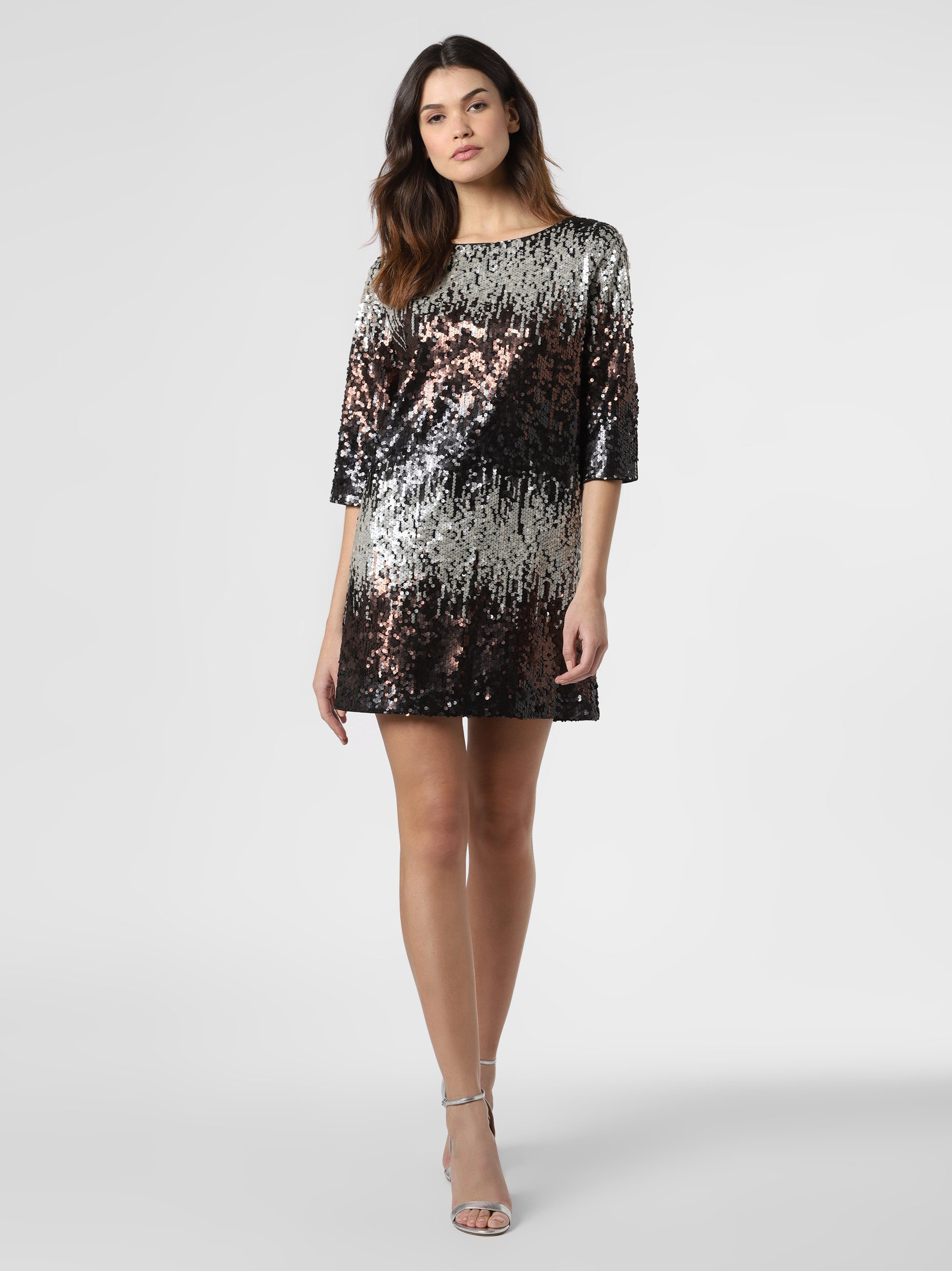 Sequin lined dress