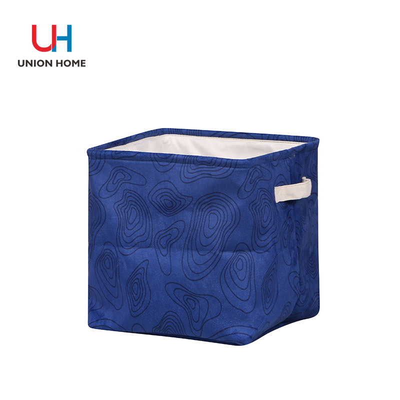 Waterproof pe canvas handle storage bucket