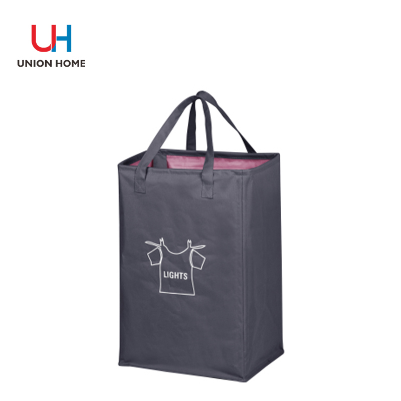 Polyester metal wire polyester laundry basket