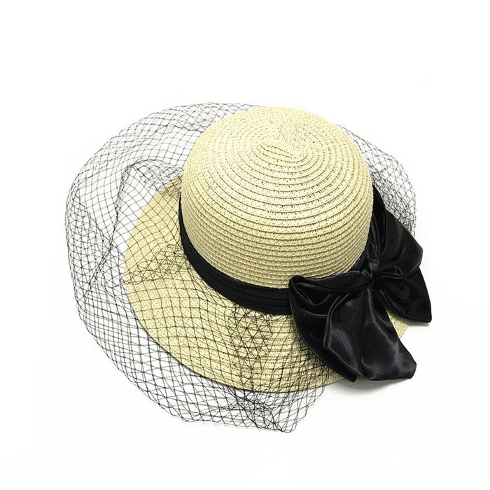 Elegant big brim sun hat