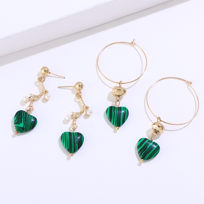 Alloy Love Earrings